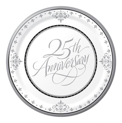 25 jaar getrouwd versiering