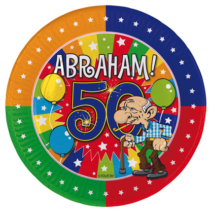 Versiering Abraham 50 jaar