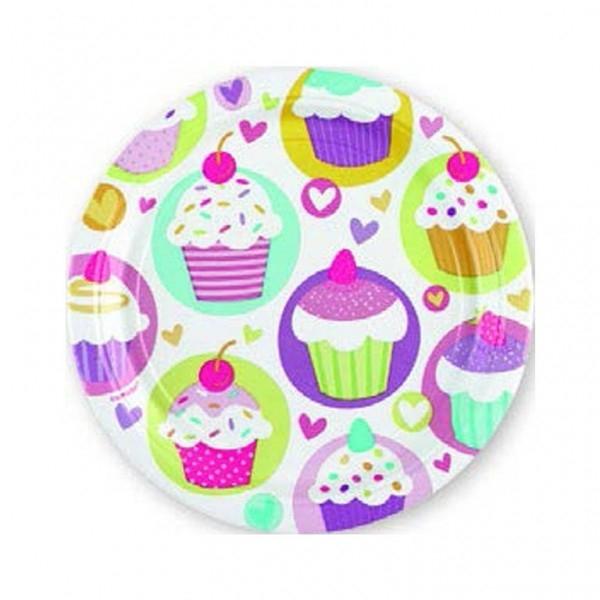 Cupcake feestje versiering en feestartikelen
