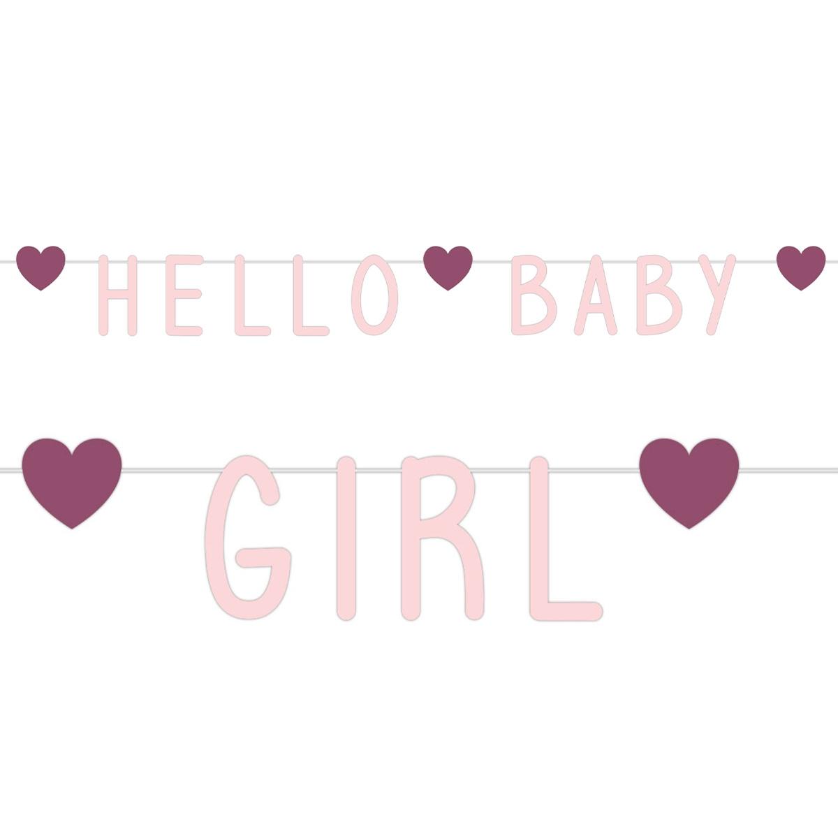 Geboorteversiering meisje