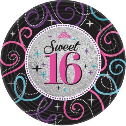 Sweet sixteen versiering