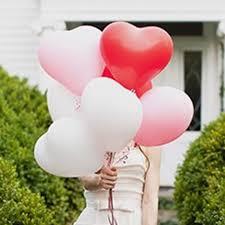 Versiering Valentijnsdag - decoratie hartjes