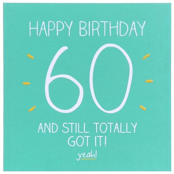 Versiering 60 jaar