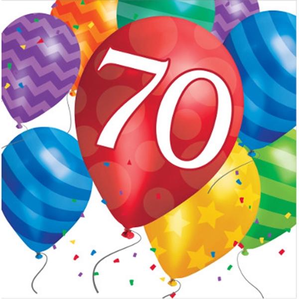 Versiering 70 jaar