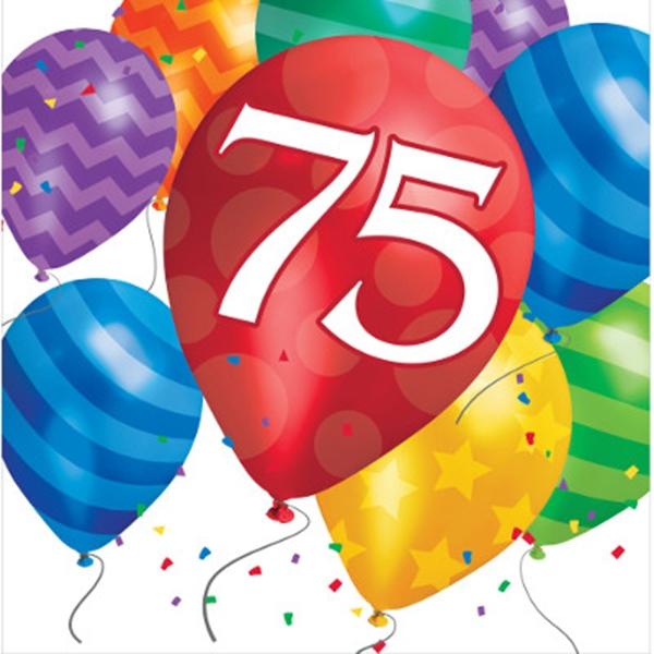 Versiering 75 jaar