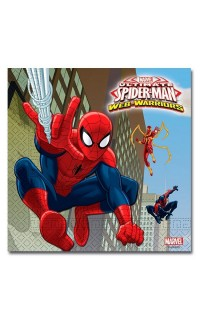 Versiering spiderman: Servetten Spiderman