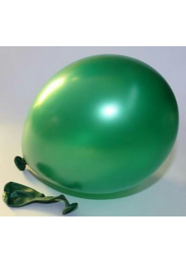 Ballon groen metallic