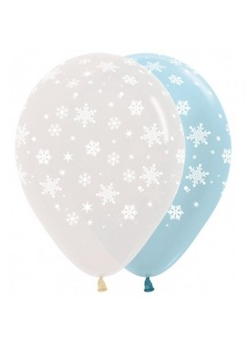 Ballon winter sneeuwvlok