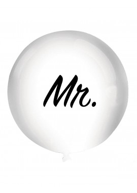 Ballon MR bruiloft