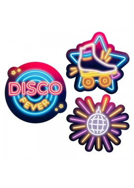 Disco Fever versiering