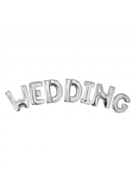Wedding folie ballon letters