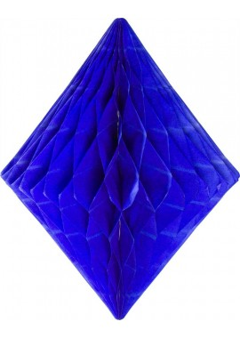 Honeycomb diamant blauw
