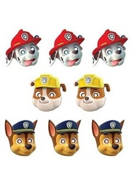 Paw Patrol maskers, 8st