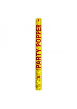 Party popper goud groot , 57 cm