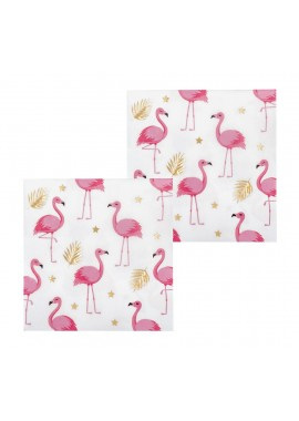 Flamingo servetten