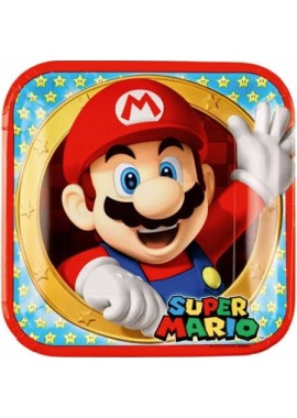 Super Mario bordjes.