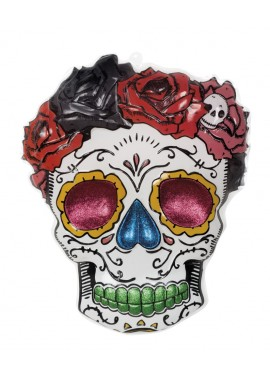 Wanddeco Mrs Day of the Dead.